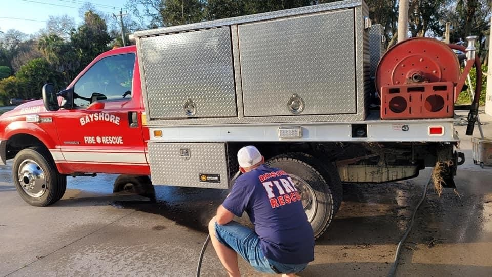 Stolen Bayshore Rescue Fire truck recovered hours later 3