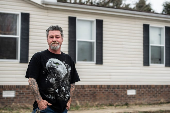 Ben Tournier, 51, has been out of Arizona state prison since 2003. He has reintegrated back into society, holds a job, owns a home and pays taxes, however he is still not able to vote.