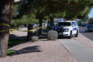 A man was fatally shot by Phoenix police Saturday, Feb. 6, 2021, after he allegedly broke into a woman's home and then raised his gun at police after they told him to drop it, according to Phoenix police.
