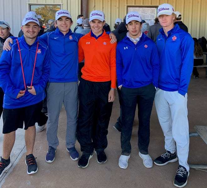 The San Angelo Central High School boys golf team opened the spring season with a runner-up showing at the Snyder Invitational on Saturday, Feb. 6, 2021.