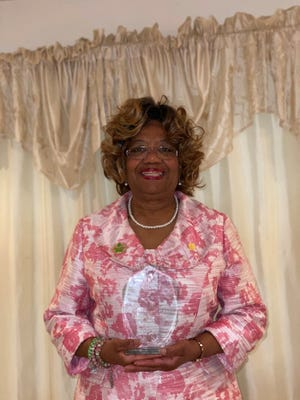 Lanell J. McCaskill was recently recognized as the Soror of the Year for the Delta Kappa Omega (DKO) Graduate Chapter of Alpha Kappa Alpha Sorority (AKA).