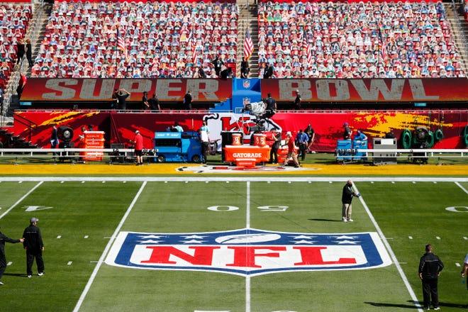 Raymond James Stadium prepares for Super Bowl 55