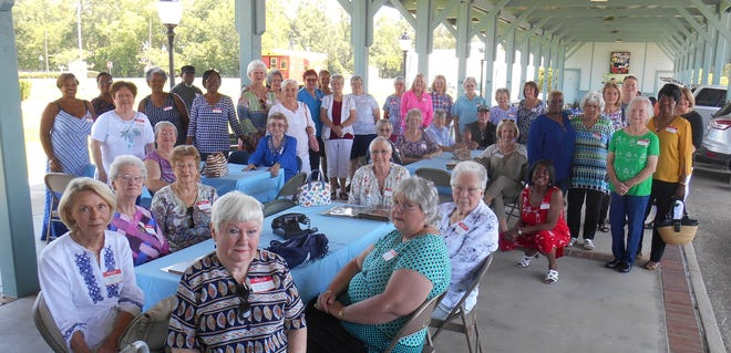 "In the Spring of 2019, the museum hosted a reception for the Southern Bell ""Belles."""