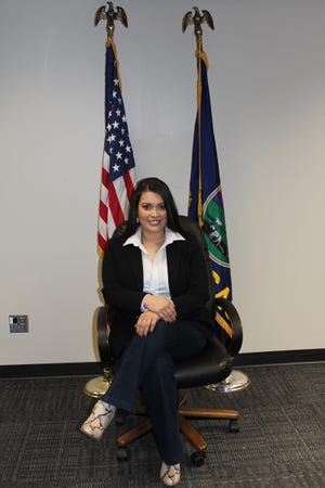 Dodge City's first Hispanic female city commissioner, Blanca Soto, is eager to get started on working for the community.