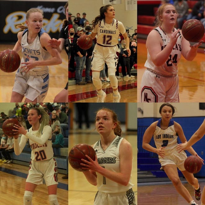 Four Winds/Minnewaukan, Nelson County, Benson County and New Rockford-Sheyenne will be playing in the District 7 tournament at New Rockford-Sheyenne School while North Star and L/E/M will be playing in the District 8 tournament.