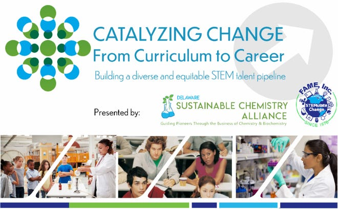 "FAME Inc. and the Delaware Sustainable Chemistry Alliance are partnering to present ""Catalyzing Change: From Curriculum to Career,"" a full-day virtual STEM forum set for 9 a.m. to 4:30 p.m. March 17."