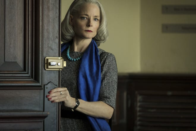 """Jodie Foster got a Golden Globe nomination for her work in """"The Mauritanian."""""""