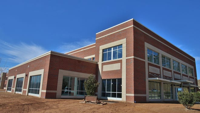 Exterior of the new Thomas Jefferson Classical Academy in Mooresboro.