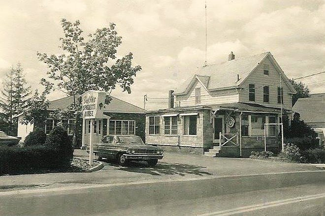 A view of Buffo's Spaghetti House in Gardner circa the mid-1960s.