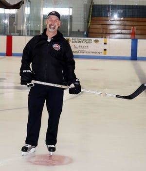 Though he retired from teaching last November, Henry Richard has continued in his role as an assistant coach on the Gardner/Murdock co-op boys' ice hockey team. Richard, who made coaching stops at Oakmont, Monty Tech and with the Gardner girls' hockey team over the years, has been on the Wildcats' coaching staff since 2014.