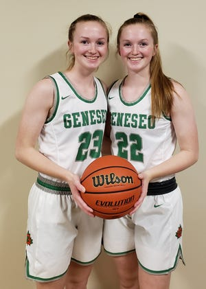 GHS seniors Abbi and Maddi Barickman are key players with the Lady Leafs Basketball Team.