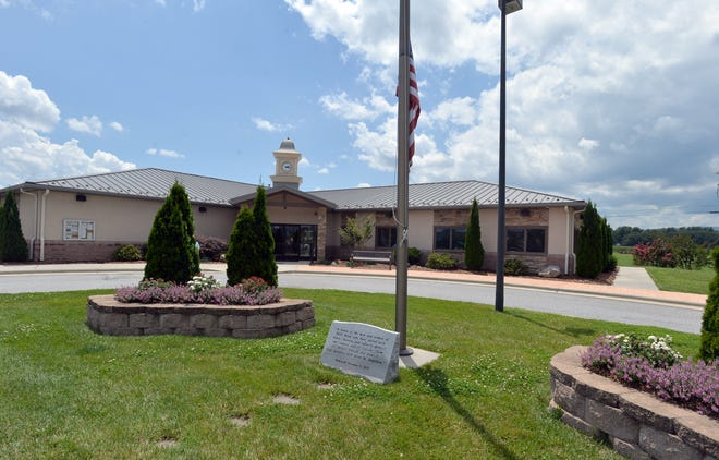 The Mills River Town Hall and Library. Mill River's annual budget development process kicks off Thursday with consideration of requests from nonprofit organizations.