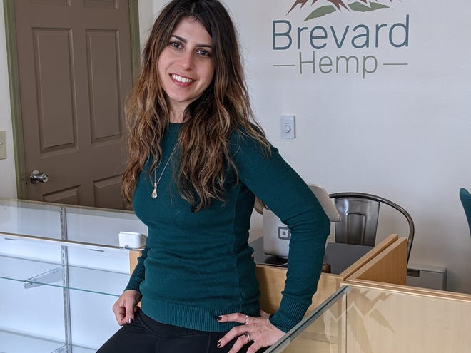 Brevard Hemp Chief Executive Officer Catherine Artzt is opening a new location in Hendersonville's Seventh Avenue District.