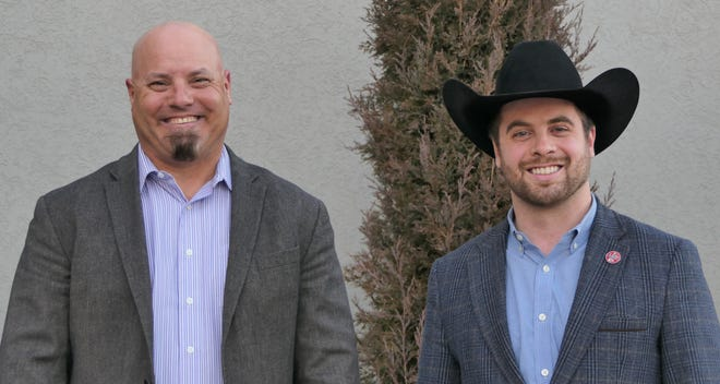 David Schemm and Tucker Stewart are U.S. Sen. Roger Marshall's agricultural policy advisers.