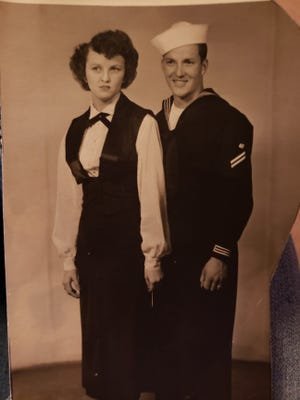Dean and June Moore are celebrating their 70th Wedding Anniversary which is Jan. 13.