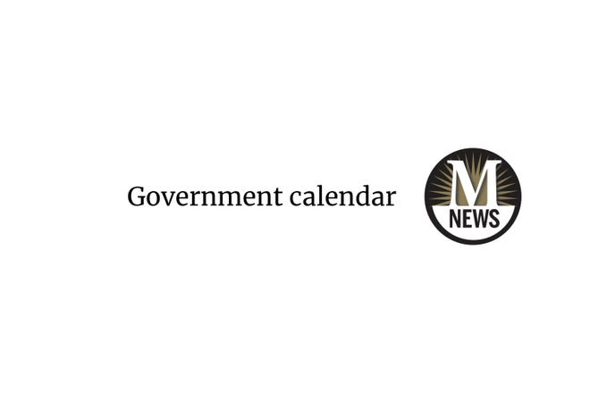Monroe News government calendar