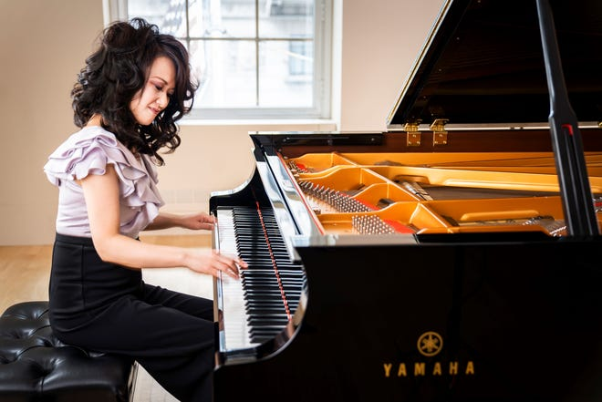 Yoko Miwa has been playing piano since she was 4.