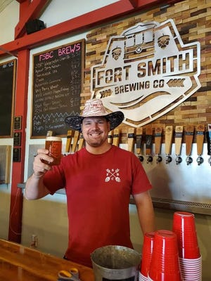 Quentin Willard, owner of Fort Smith Brewery, is working to open a small microbrewery in his hometown of Van Buren called Pointer Place.