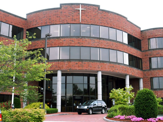 The Boston archdiocese headquarters is on Brooks Drive in Braintree.