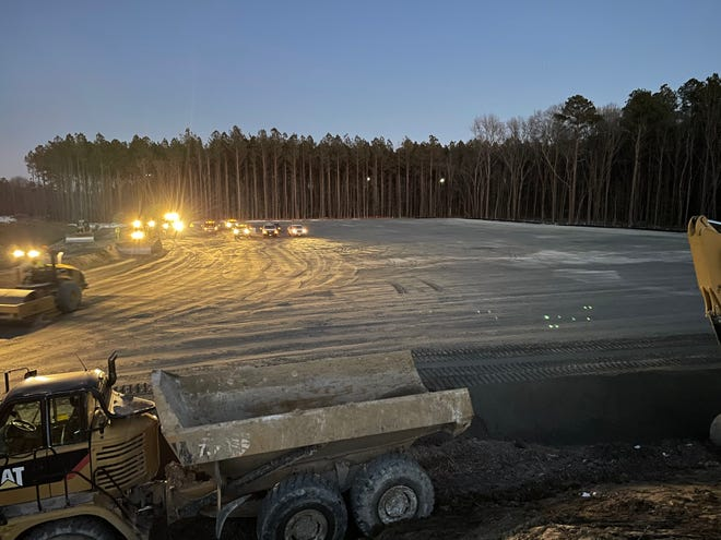Construction has begun on the new manufacturing facility for drug maker Civica Rx. It is the latest company to move to Petersburg's growing pharmaceutical manufacturing cluster.