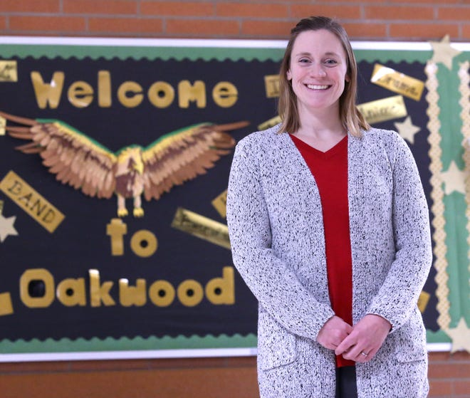 Jennifer Ammond is a math teacher in Plain Local's Eagle Online School. Ammond is a Canton Repository Walsh University Teacher of the Month for February.