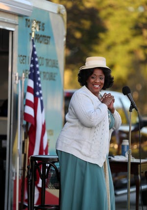 "E. Faye Butler stars in the premiere of Cheryl L. West's ""Fannie: The Life and Music of Fannie Lou Hamer"" at Asolo Rep. She toured Chicago parks last fall in an abbreviated version of the show about the civil rights activist."