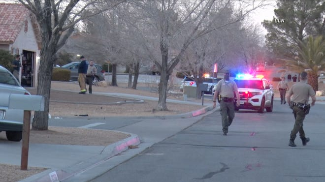 San Bernardino County Sheriff's Department officials said two people were killed in the 16300 block of Pauhaska Road in Apple Valley on Sunday, Feb. 7, 2021.