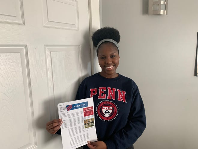 Claire Kafeero, a senior at PCSS II in Saugus, will attend the University of Pennsylvania's prestigious Wharton School of Business this fall.