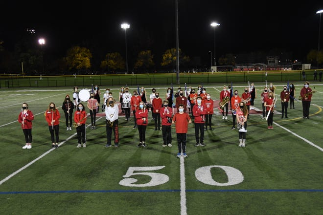 The Melrose High School Band has teamed up with My Brother's Table for an online fundraiser for the month of February.