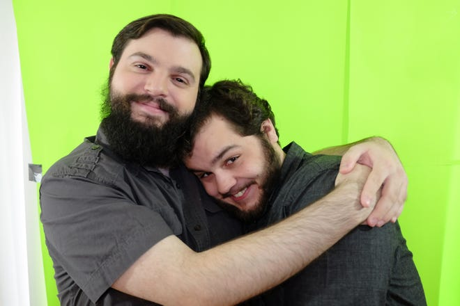 """Norman Dubois and Kyle Collins, a couple in real life, star in """"Other Letters,"""" part of Vanilla Box Production's upcoming presentation of """"Love Stories."""""""