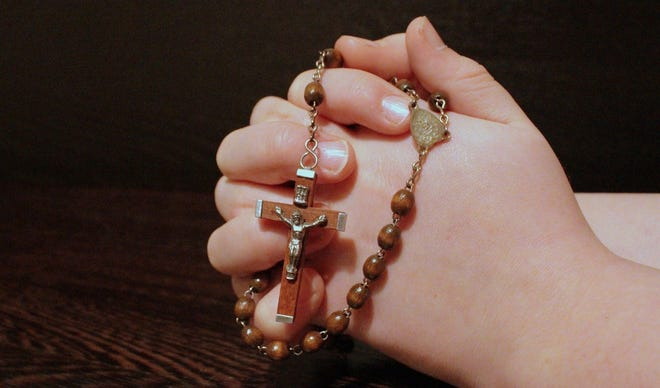"""You gently prayed to me: as my Nonna prayed the Rosary;"""