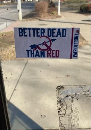 Recruitment materials associated with the Patriot Front group have appeared on the University of Louisville's campus in recent weeks, upsetting students and sparking an investigation by campus police.