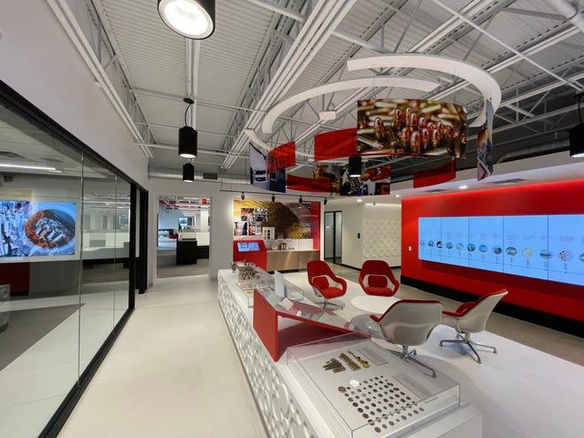 A look inside Wieland North America's new HQ in Louisville. Feb. 8, 2021