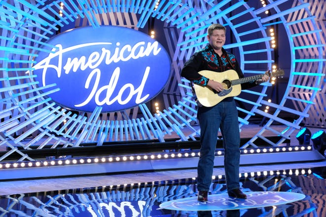 """Alex Miller of Lancaster, Ky performs on Season 4 of ABC's """"American Idol"""" on February 14, 2021, at 8 p.m. on ABC."""