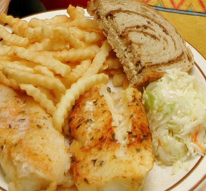Baked cod is sometimes an option at church and nonprofit fish fries.