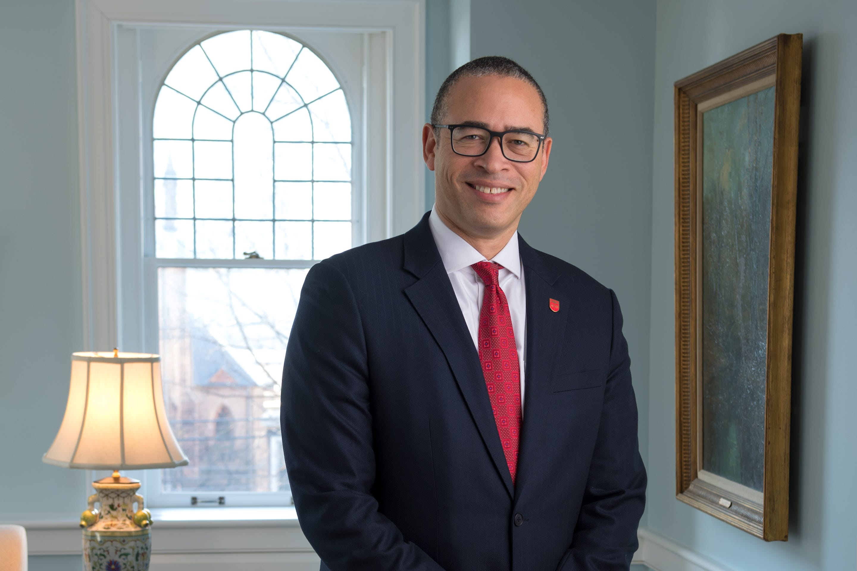 Jonathan Holloway, president of Rutgers University
