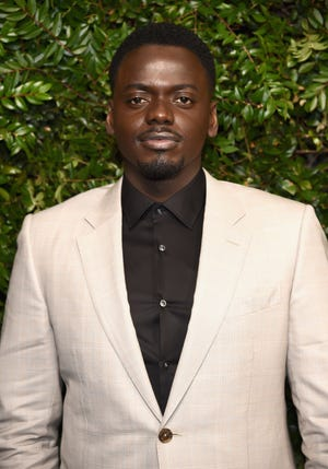 """Daniel Kaluuya attends Charles Finch and Chanel Pre-Oscar Awards Dinner at Madeo in Beverly Hills on March 3, 2018 in Beverly Hills, California. Kaluuya will receive the International Star Award, Actor at the Palm Springs International Film Awards for his performance in the film """"Judas and the Black Messiah."""""""