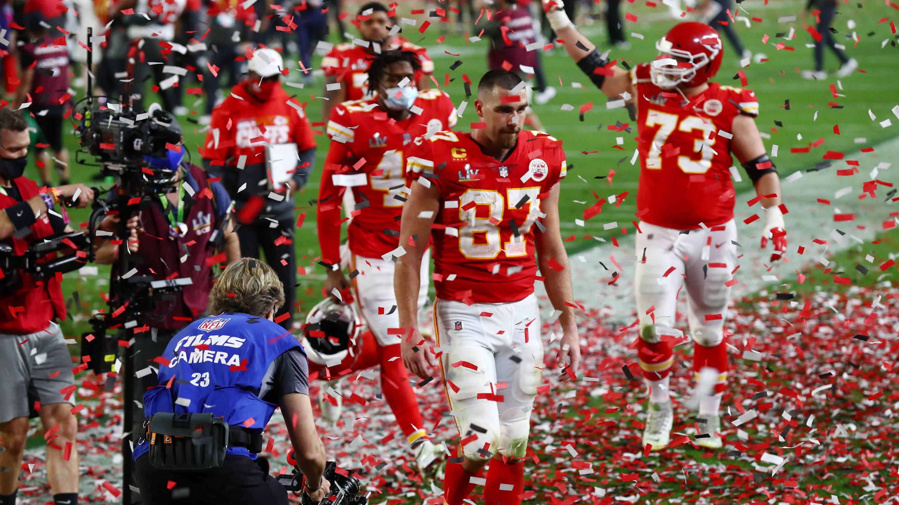 What happens to Super Bowl 55 gear made for Kansas City Chiefs after they lost? - USA TODAY