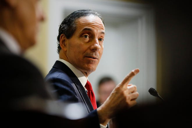 Congressman Jamie Raskin, D-Maryland, the lead House impeachment manager.