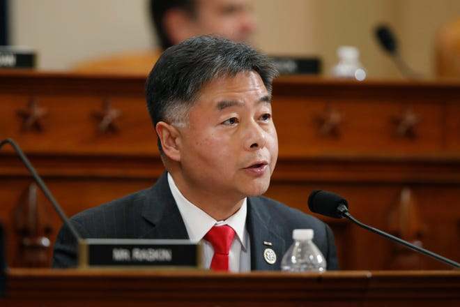 Rep. Ted Lieu, D-Calif., talks during a hearing before the House Judiciary Committee on the constitutional grounds for the impeachment of President Donald Trump, on Capitol Hill in Washington, Dec. 4, 2019.