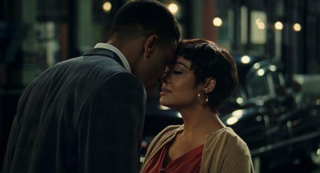 "Nnamdi Asomugha and Tessa Thompson star in the romance ""Sylvie's Love."""