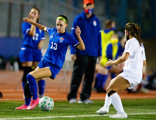 Westlake sophomore Mia Fuss recorded seven points with two goals and three assists on the week to help the Chaps to wins over Hays and Akins.