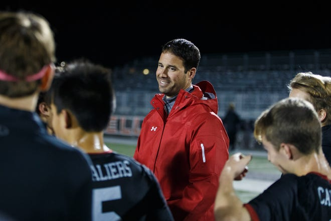 Lake Travis Cavaliers head coach David Bammel and his boys soccer team remain unbeaten entering this week. The Cavs claimed a 2-0 win over Del Valle last week as Tre Wright and Ben Paranidharan scored and Drew Snodgrass recorded a clean sheet.