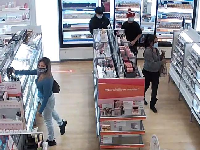 The Ardmore Police Department is asking for the public's assistance in identifying the four individuals pictured. The individuals are suspected of stealing over $3,000 worth of merchandise.