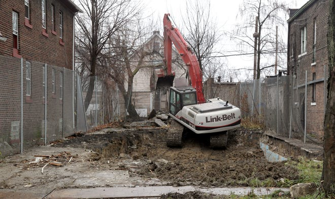 The Cleveland home of convicted serial killer Anthony Sowell, where the remains of 11 women were found, was demolished in 2011.