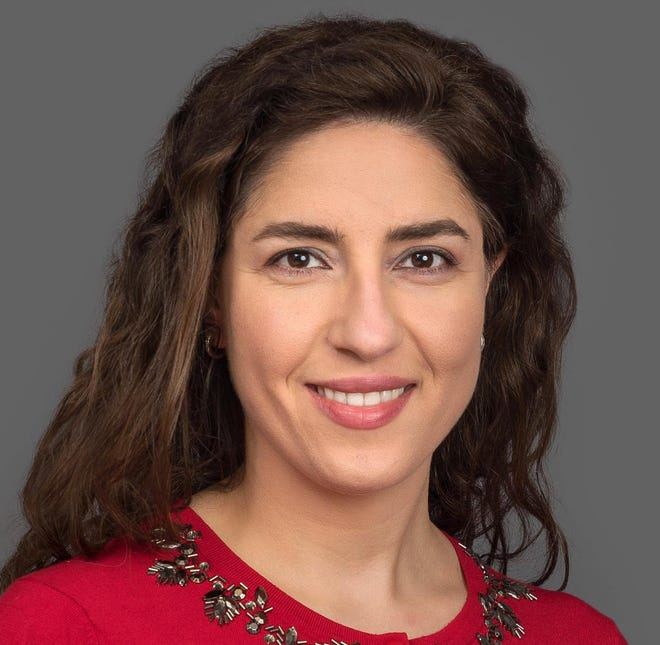 Myriam Elkosseifi, M.D., is an endocrinologist at Saint Vincent Hospital.