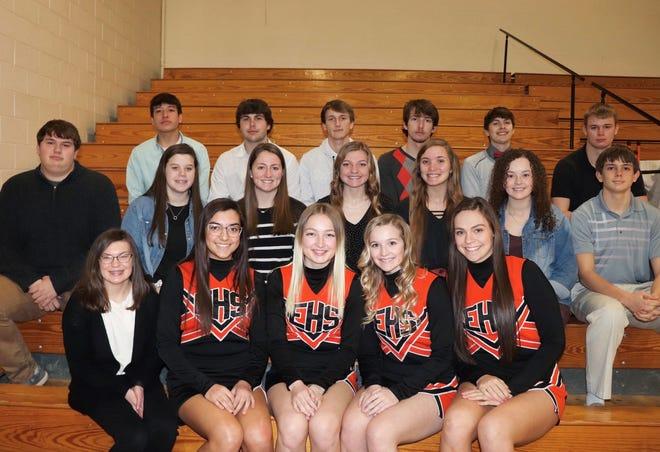2021 Ellis High School Basketball/Cheer Senior Night