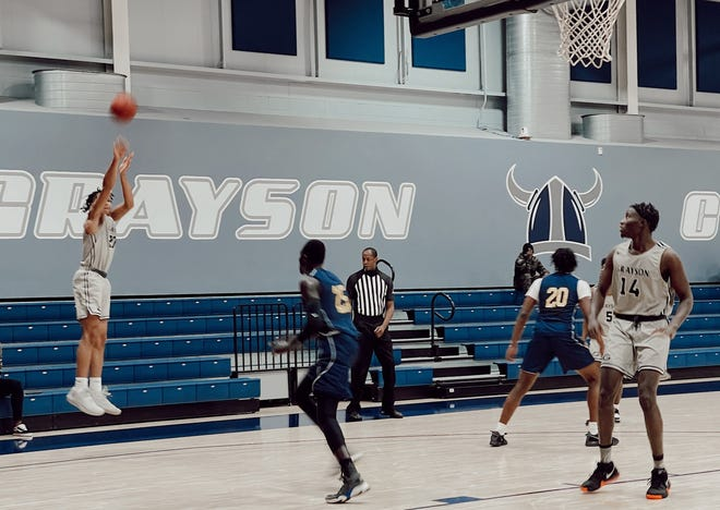 The Grayson College Vikings picked up a home victory against Loyalty College Prep.