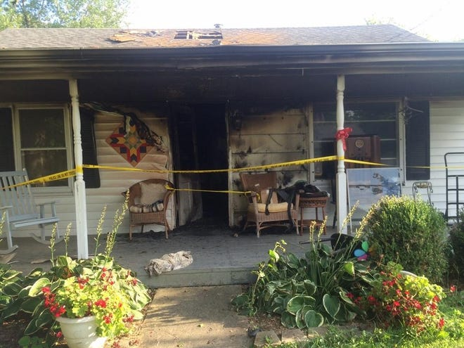 On Aug. 16, 2016, Harriette Day, 88, died inside her fire-ravaged home at 414 E. Leo St. in Eureka.