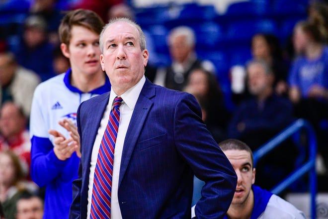 Lubbock Christian University coach Todd Duncan. [Justin Rex/A-J Media]